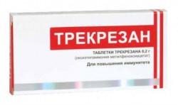 Трекрезан, табл. 200 мг №10
