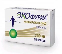 Экофурил, капс. 200 мг №16